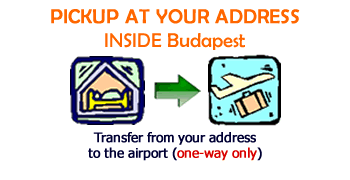 transfer to budapest airport only