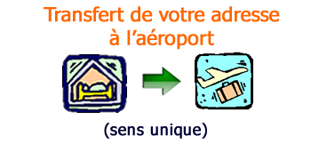 aller simple à l'aéroport